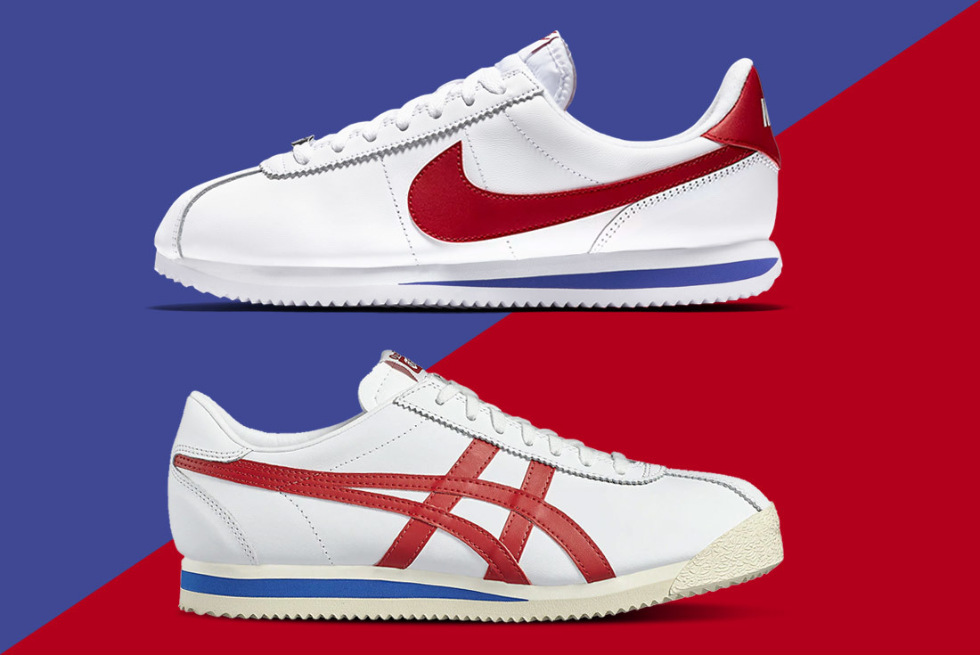 Nike Cortez vs. Onitsuka Tiger Corsair