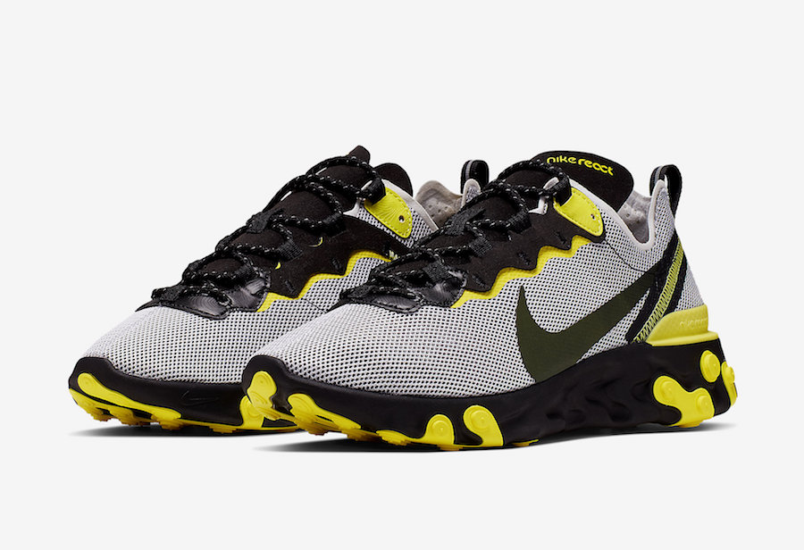 Nike React Element 55 ''Dynamic Yellow''