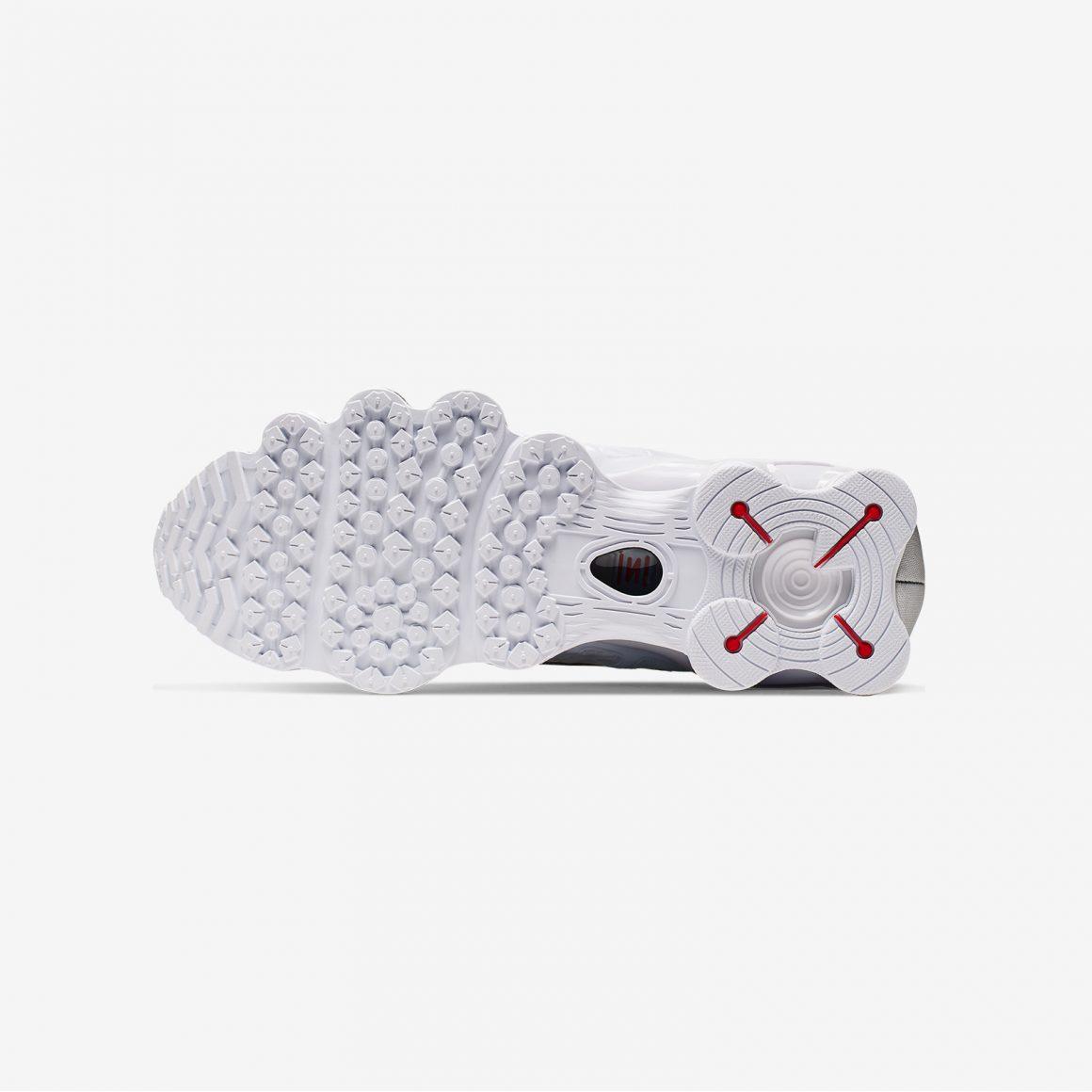 Nike Shox TL ''White/Metallic Silver''