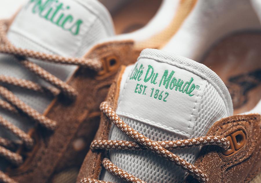 Sneaker Politics x Café du Monde x Saucony Shadow 5000