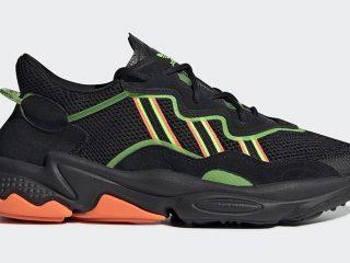 adidas Ozweego ''Black/Orange/Green''