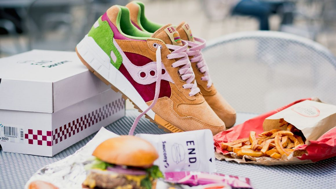 "END Clothing x Saucony Shadow 5000 ""Burger"" - 2014"