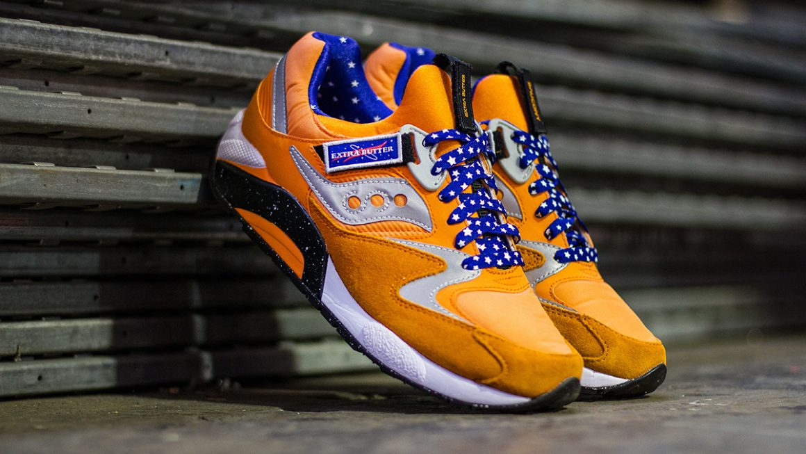 Extra Butter x Saucony Space Race - 2014