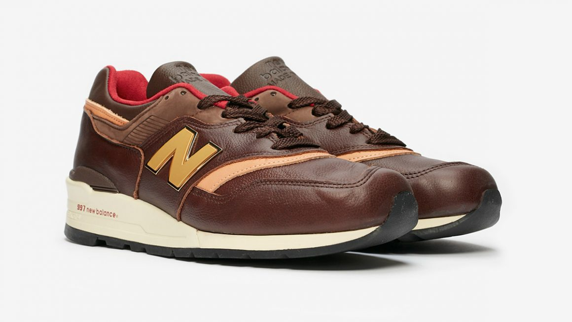 New Balance 997 ''Made In USA'' ''Brown Tan'' - Sneaker Style