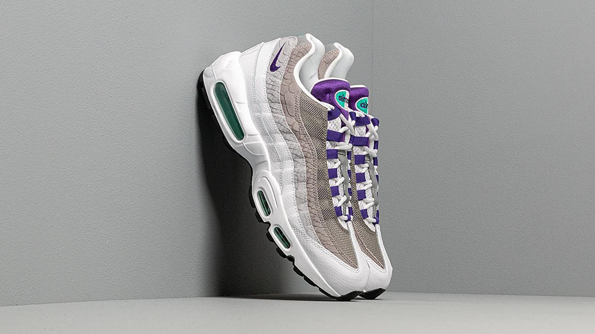 Nike Air Max 95 LV8 ''Grape'' ''Snakeskin'' Sneaker Style