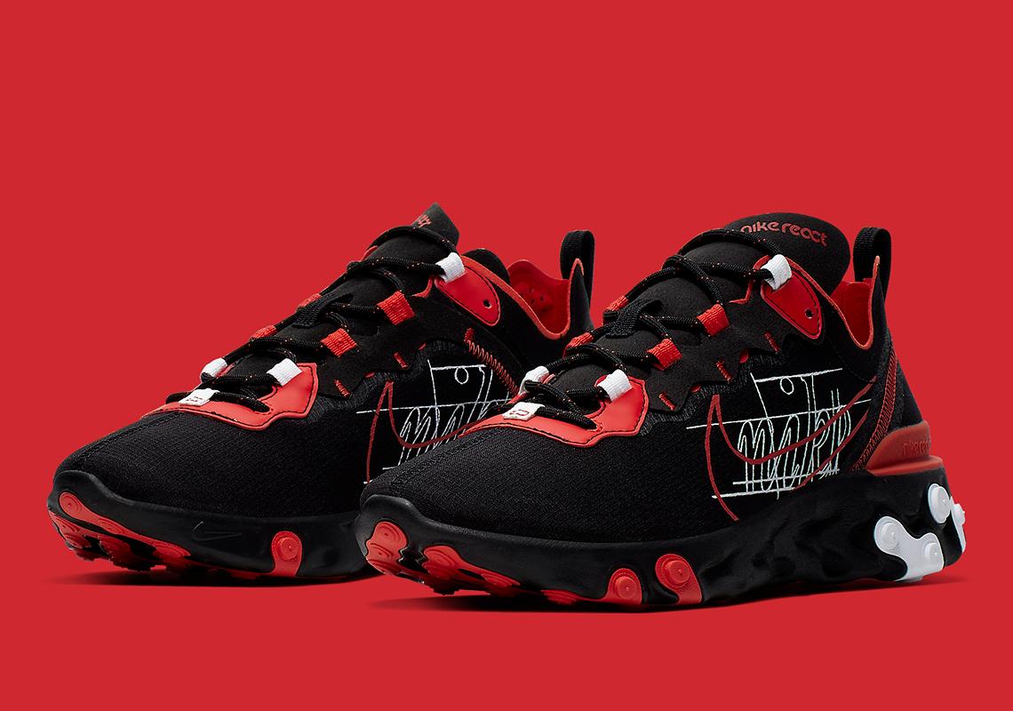 Nike React Element 55 ''Script Swoosh''