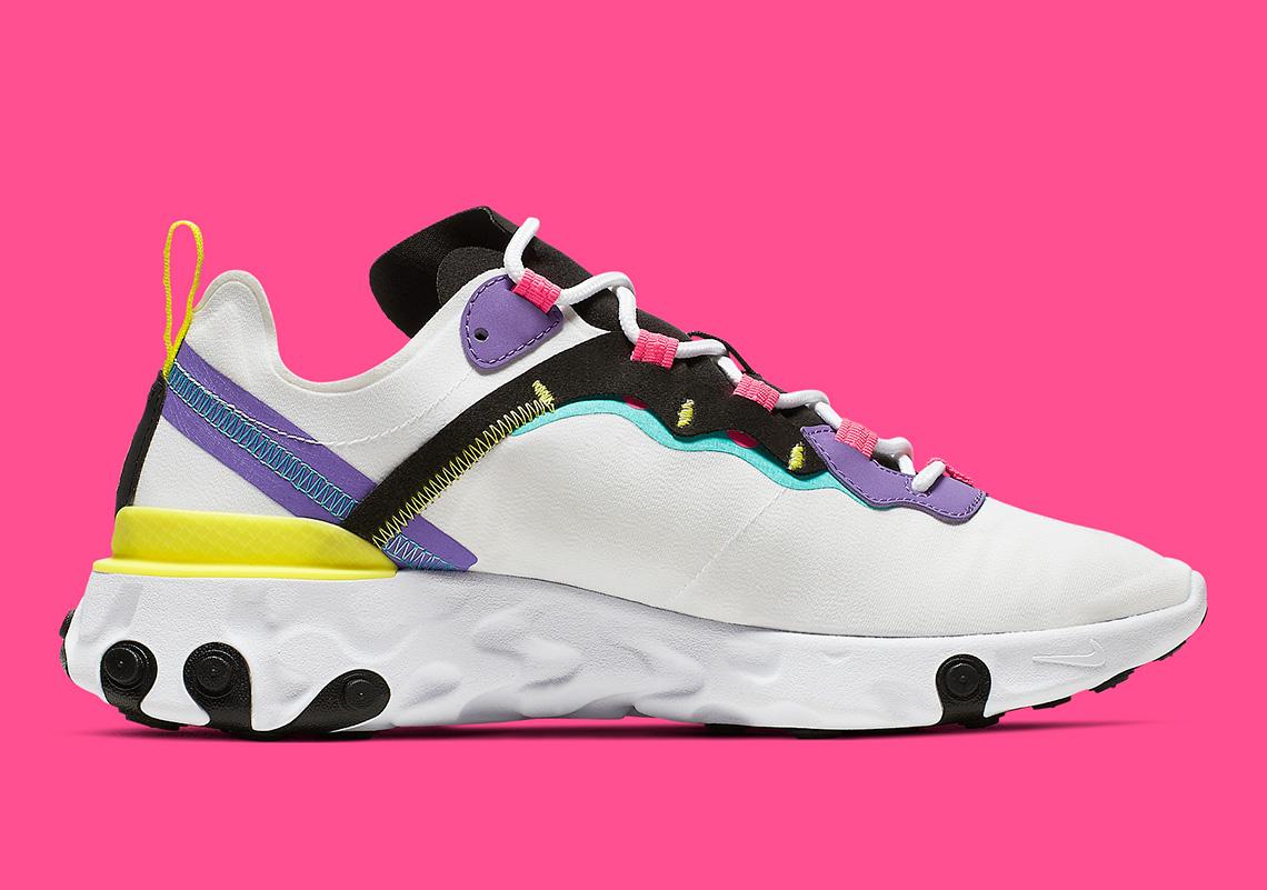 Nike React Element 55 ''Psychic Purple''