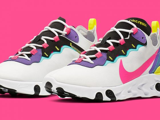 Nike React Element 55 ''Psychic Purple''