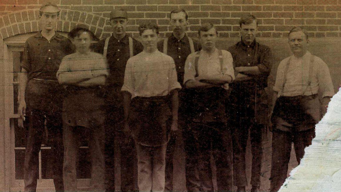 Les co-fondateurs de Saucony en 1898