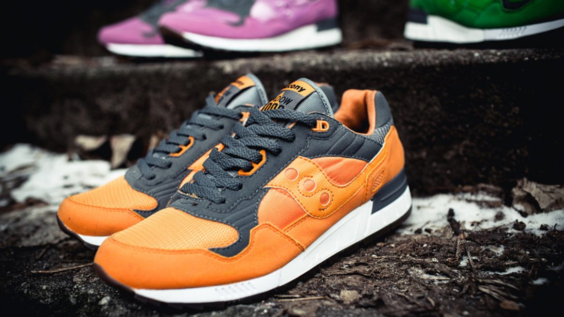 "Solebox x Saucony Shadow 5000 ""Three Brothers"" Pack - Orange - 2011"