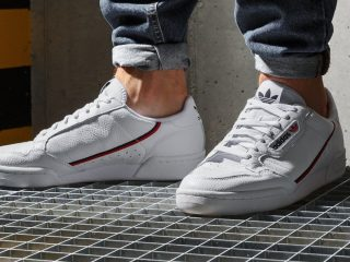 adidas Continental 80 ''Cloud White/Scarlet/Collegiate Navy''