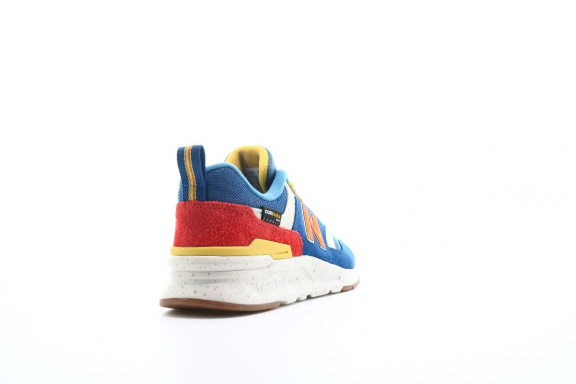 New Balance 997 ''HFB'' ''Cordura Pack'' ''Blue/Varsity Orange''