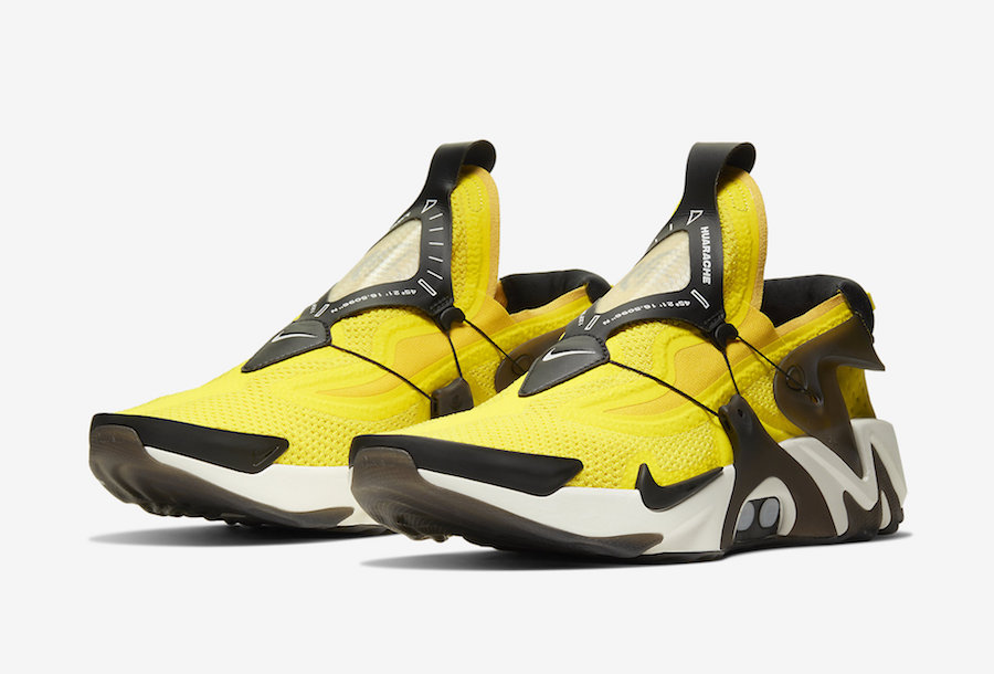 Nike Huarache Adapt ''Opti Yellow''