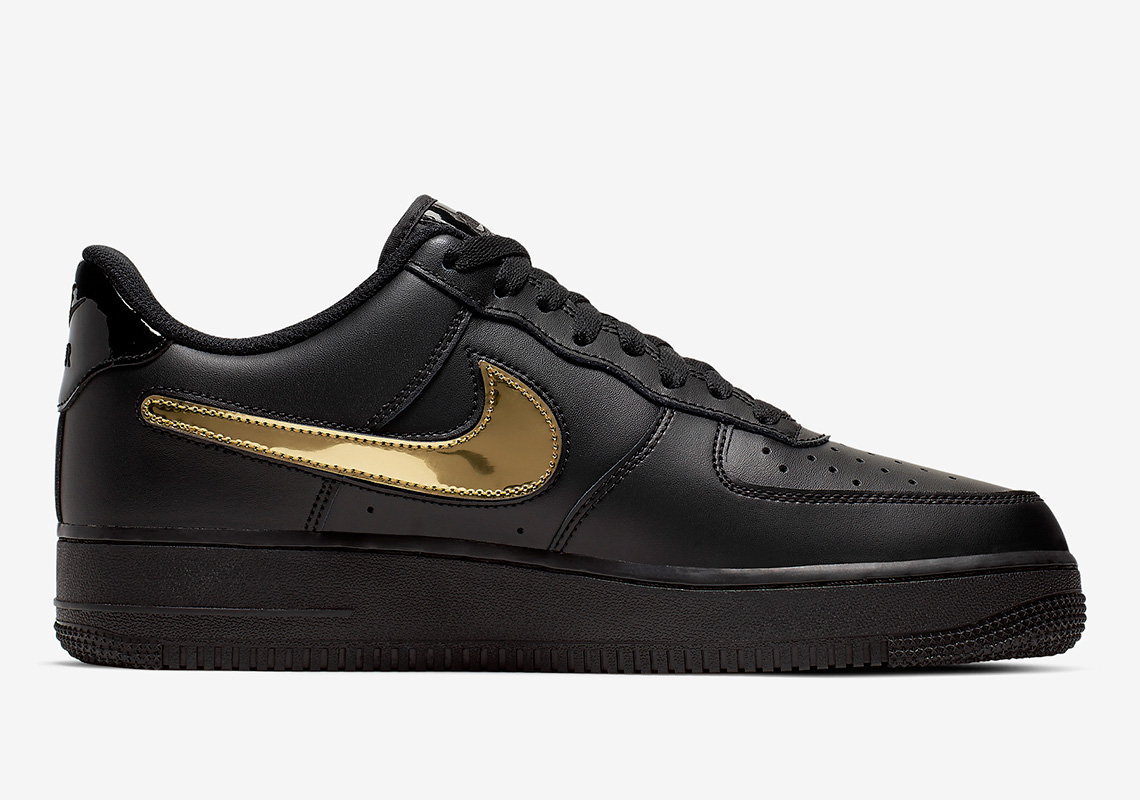Nike Air Force 1 '07 LV8 3 ''Removable Swoosh'' - Black