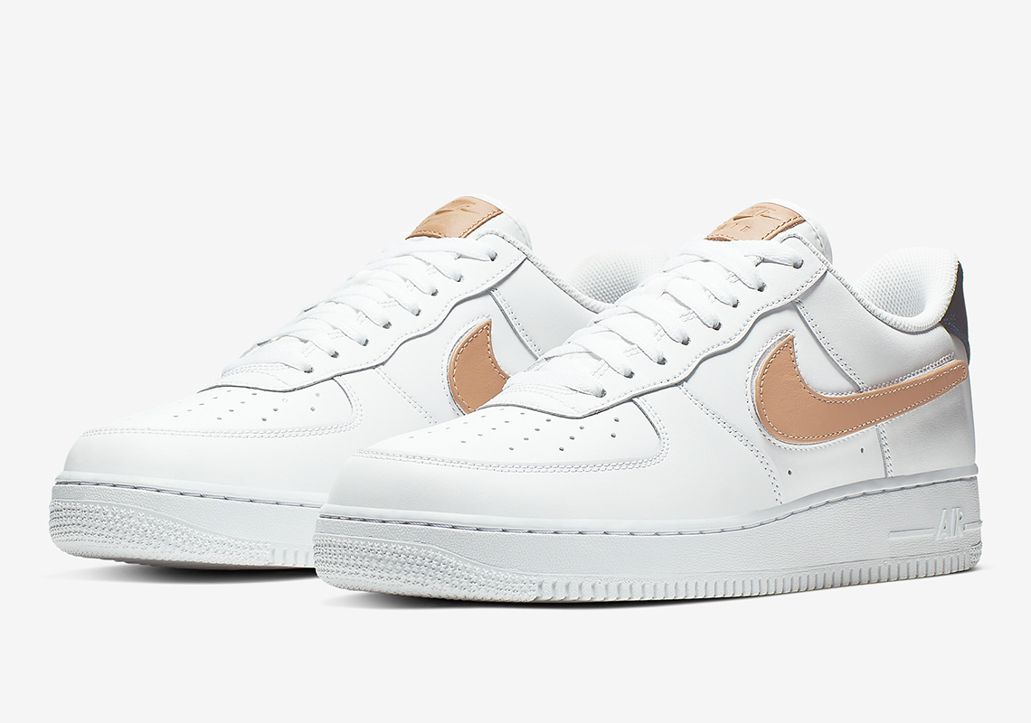 Nike Air Force 1 '07 LV8 3 ''Removable Swoosh'' - White