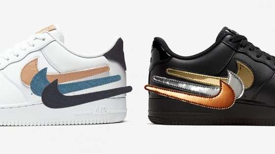 Nike Air Force 1 Low ''Removable Swoosh'' Pack