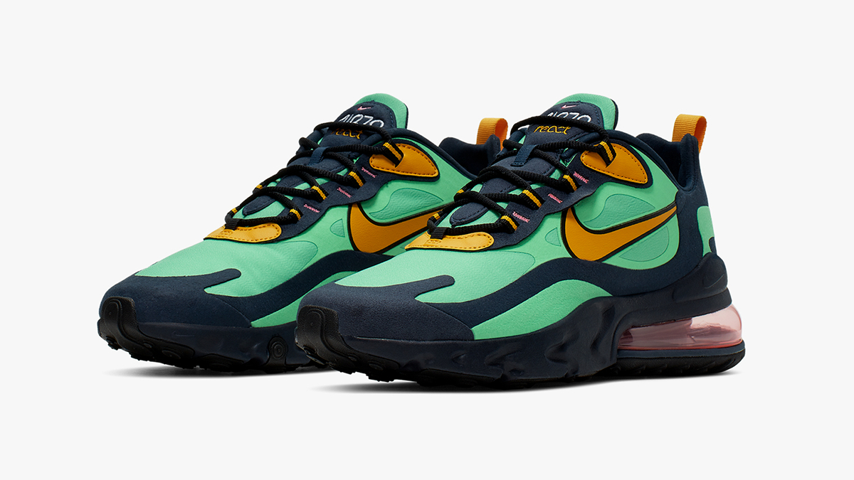 classic fit best cheap check out Nike Air Max 270 React ''Electro Green'' - Sneaker Style