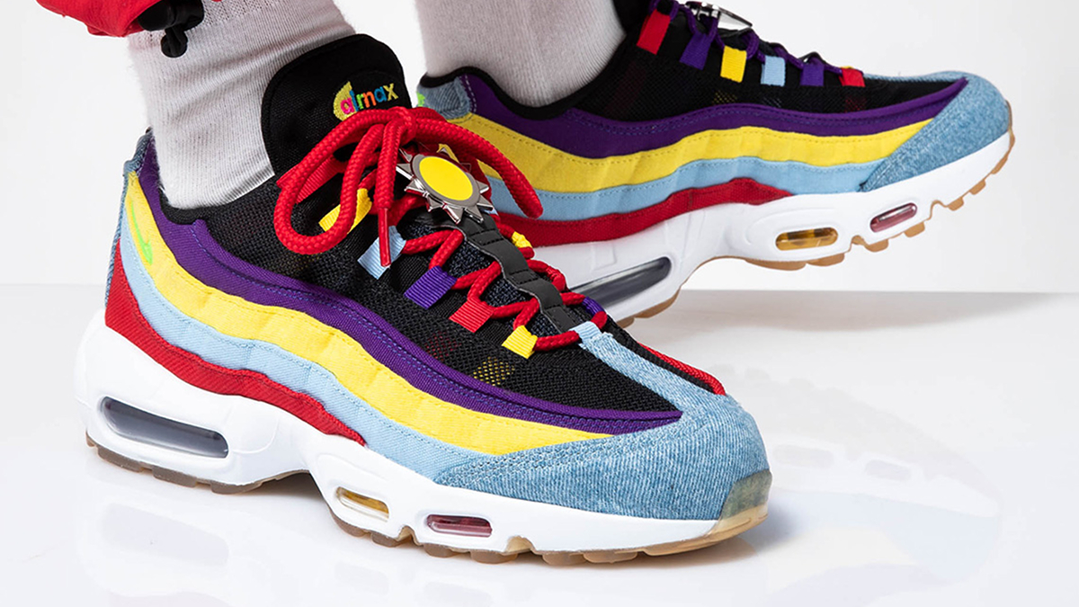 Nike Air Max 95 SP ''Psychic Blue'' Sneaker Style