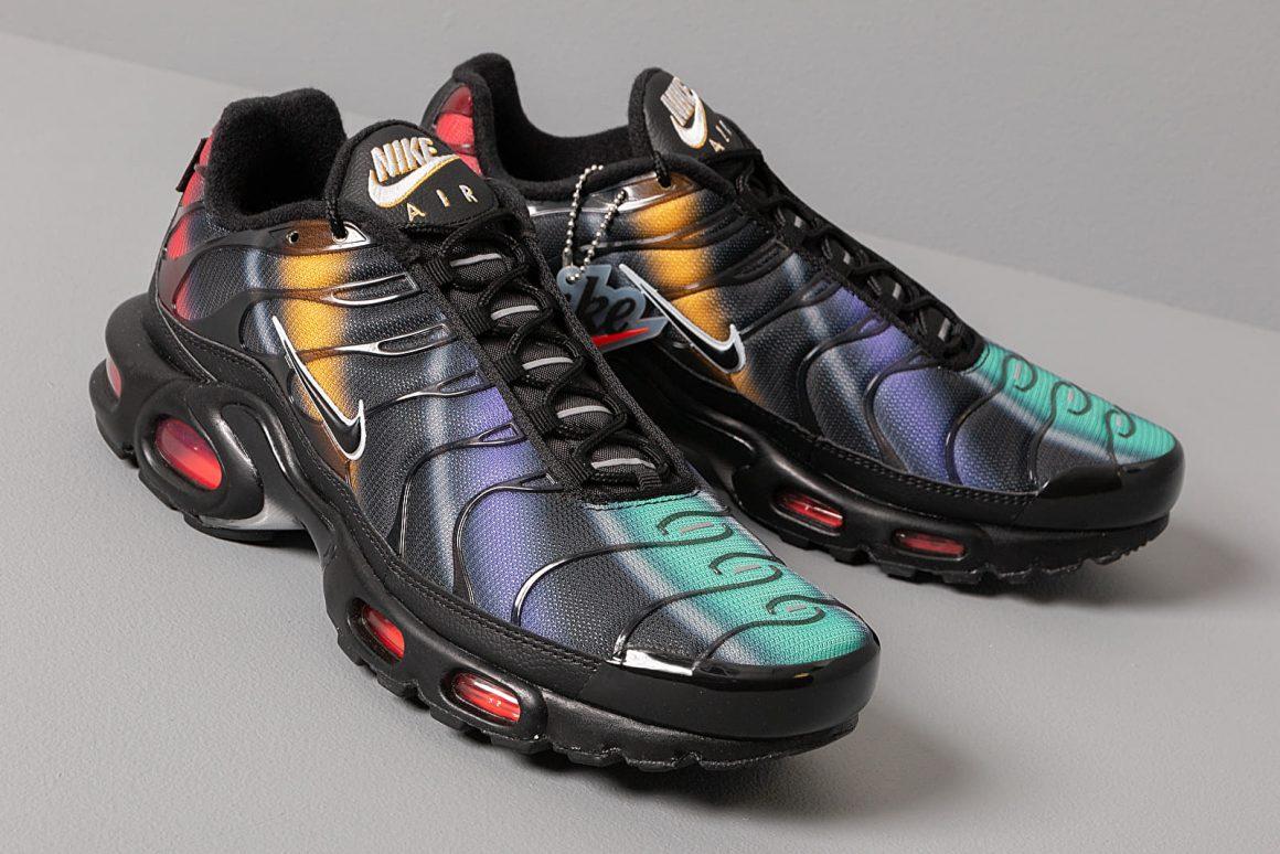 Une nouvelle finition multicolore pour la Nike Air Max Plus ...