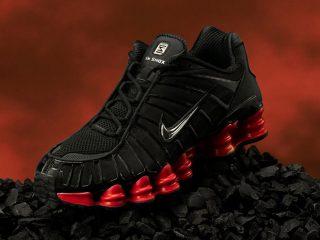 Skepta x Nike Shox TL ''Black/Red''