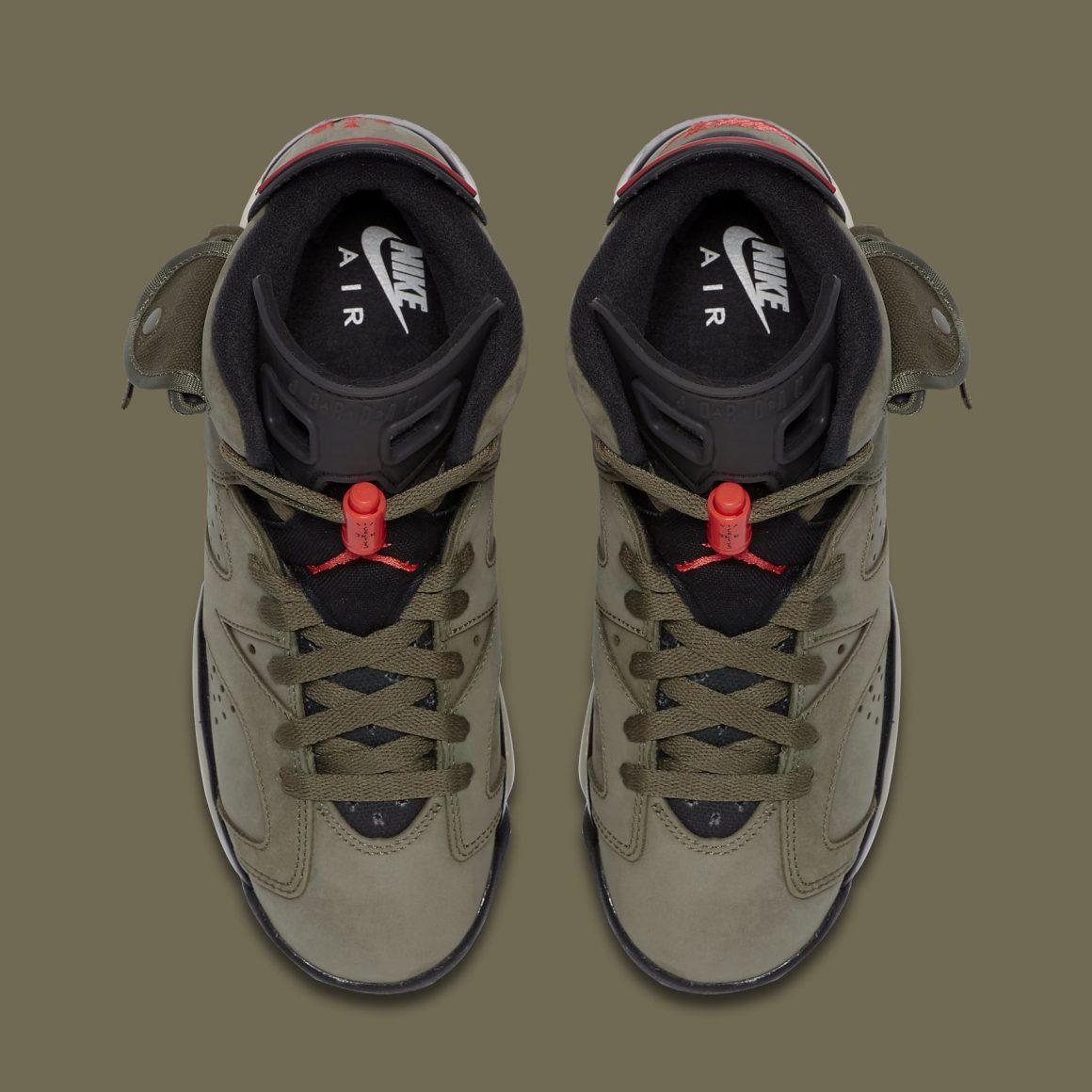 Travis Scott x Air Jordan 6 ''Cactus Jack''