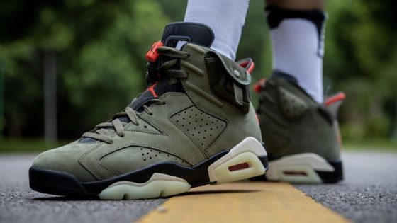 Travis Scott x Air Jordan 6 ''Cactus Jack''
