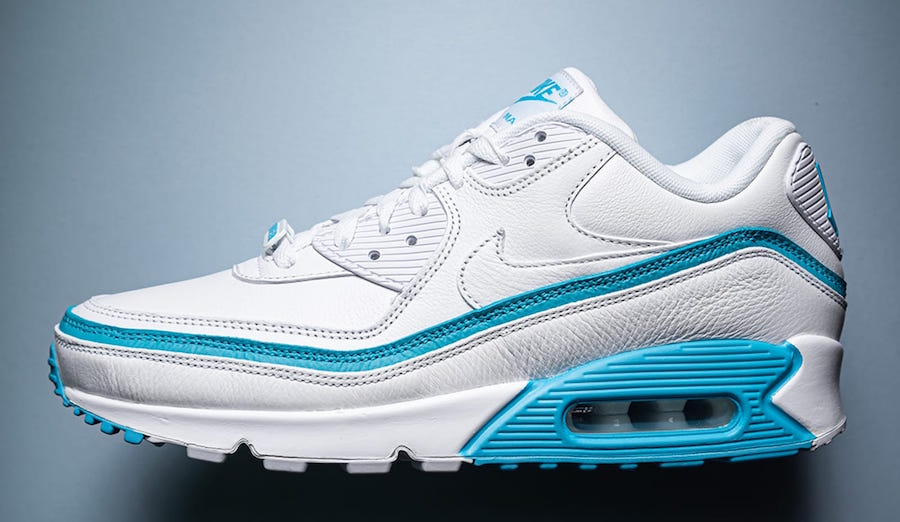 Undefeated x Nike Air Max 90 ''White/Blue Fury''