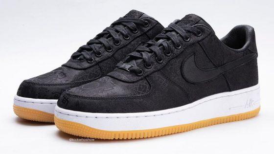 Fragment x CLOT x Nike Air Force 1 PRM ''Black''