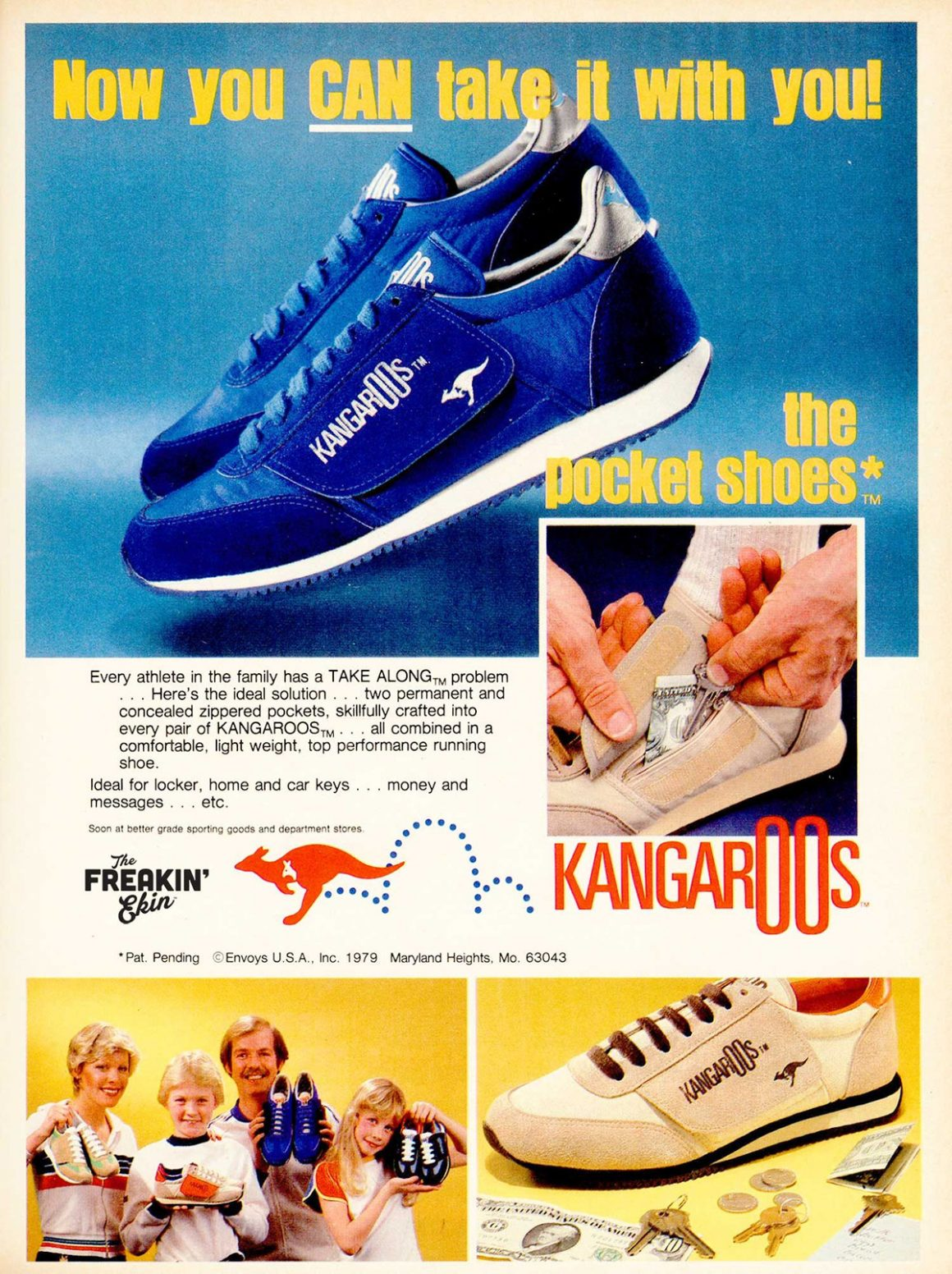 KangaROOS - Pocket shoes