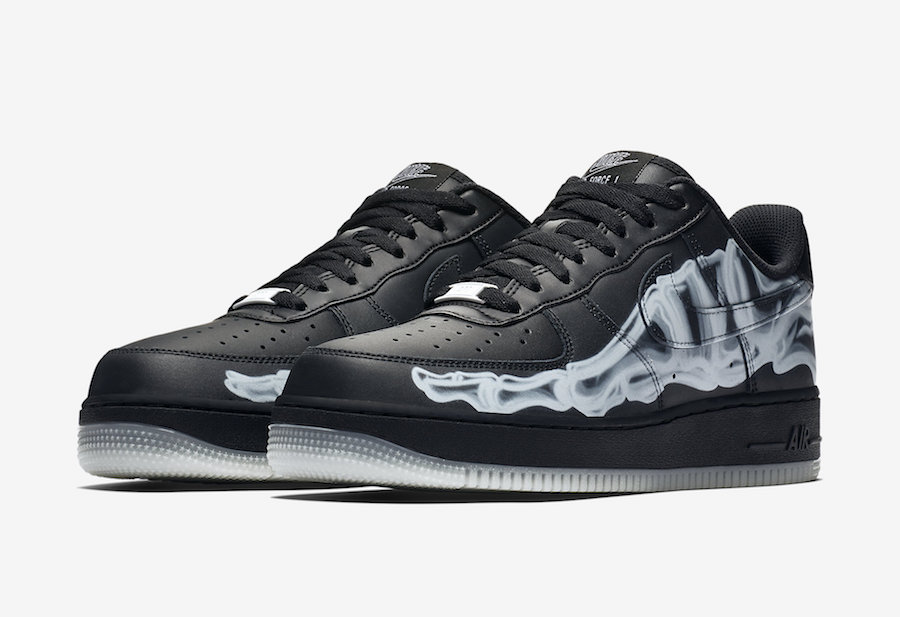 Nike Air Force 1 ''Black Skeleton''