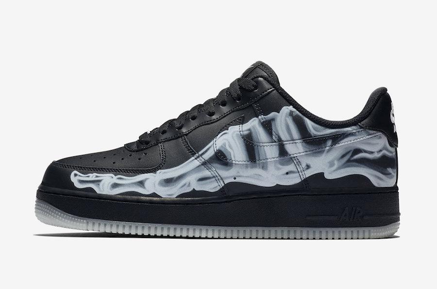 Nike Air Force 1 ''Black Skeleton''