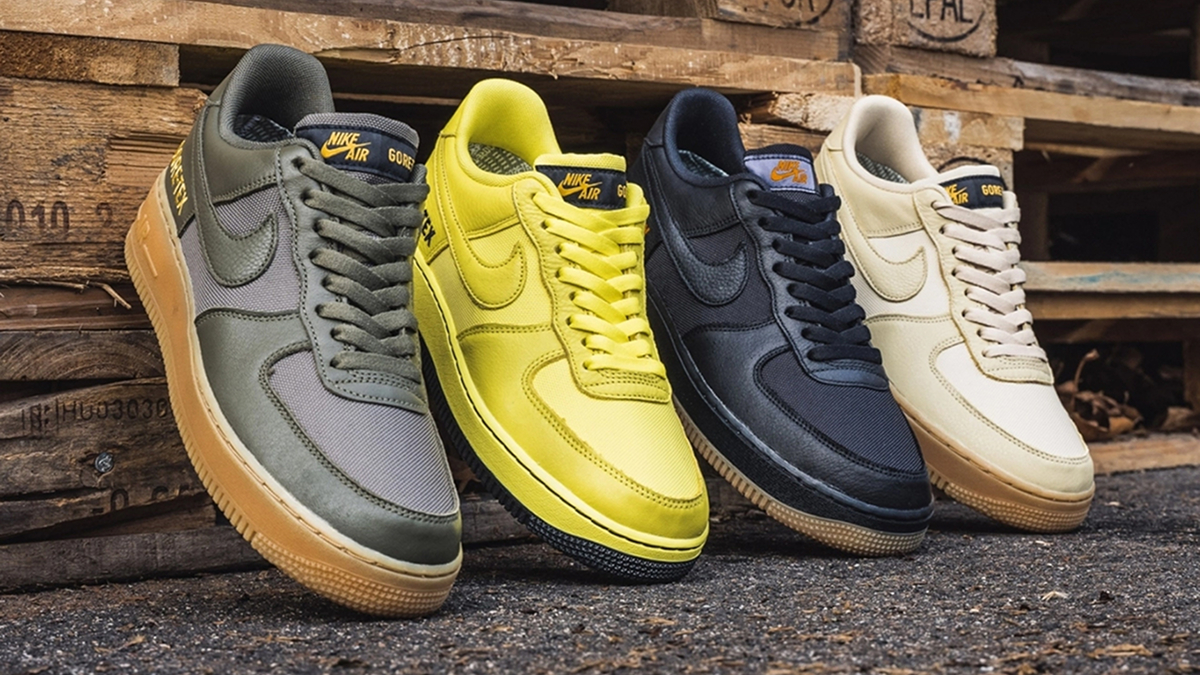 Nike Air Force 1 GORE TEX Pack Sneaker Style