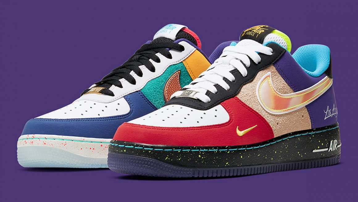 Nike Air Force 1 Low ''What The LA'' - Sneaker Style