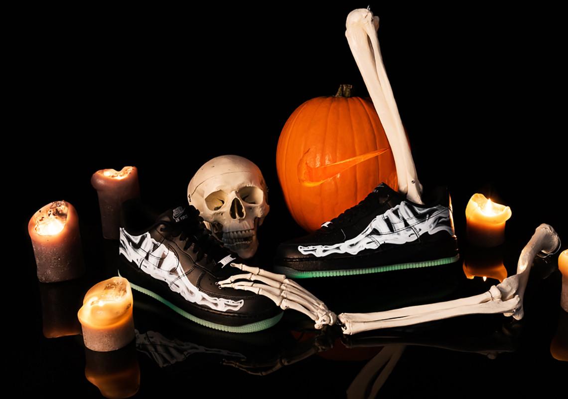 Où trouver la Nike Air Force 1 Low '07 QS Skeleton Halloween