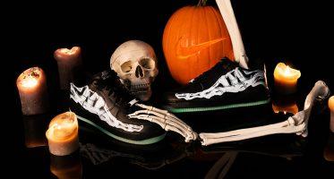 NikeAir Force 1 ''Black Skeleton''
