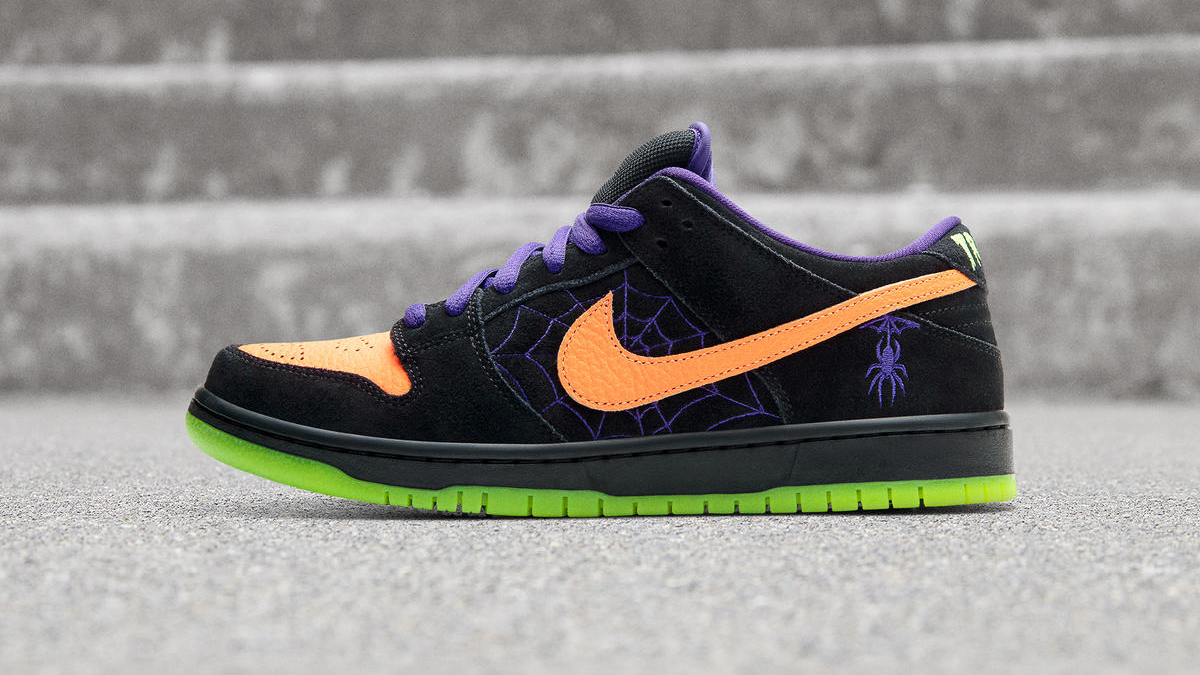 "Nike SB Dunk Low ""Night of Mischief"" Sneaker Style"