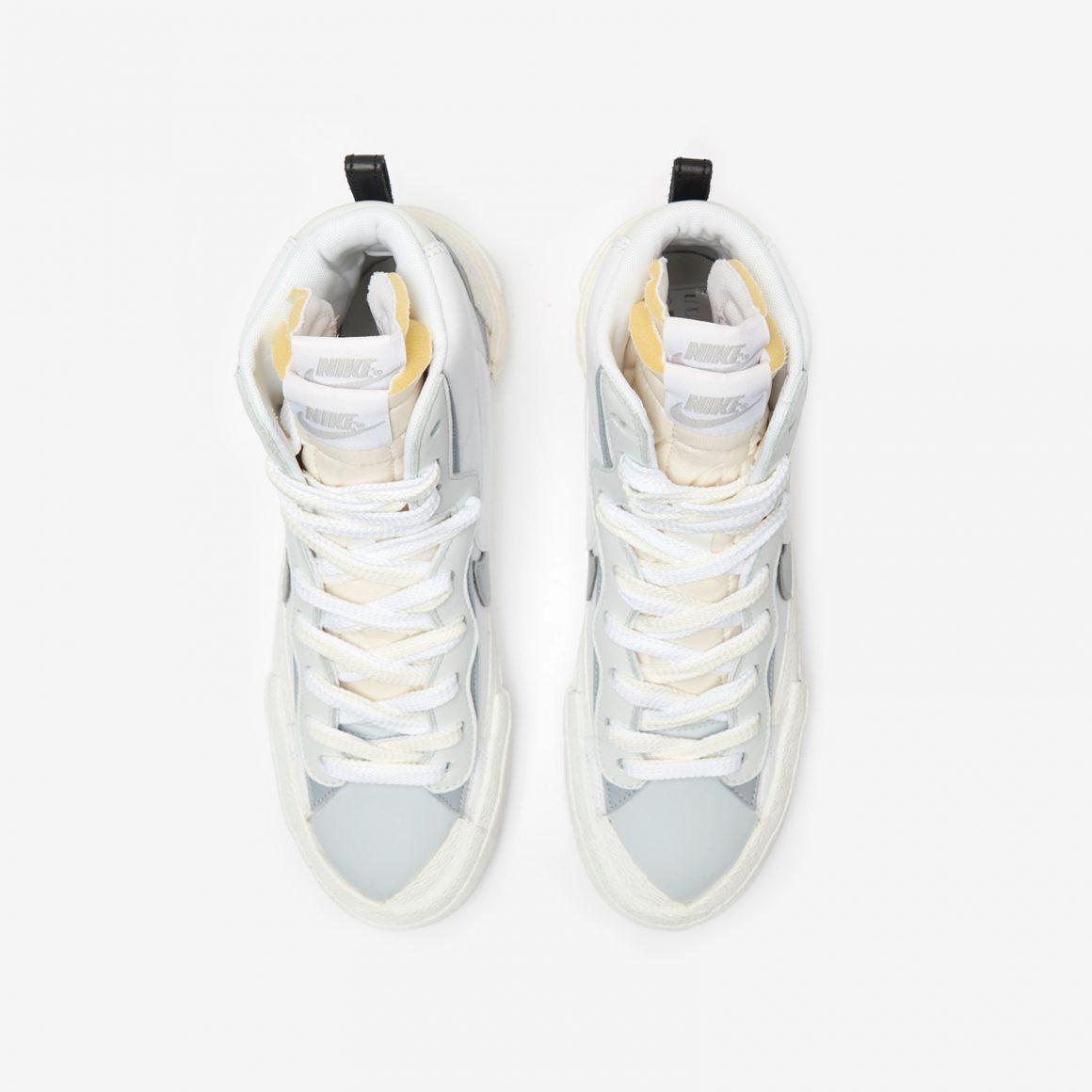SACAI x Nike Blazer Mid ''White/Wolf Grey''