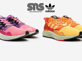 Sneakersnstuff x adidas Consortium ZX 4000 4D ''20th Anniversary''