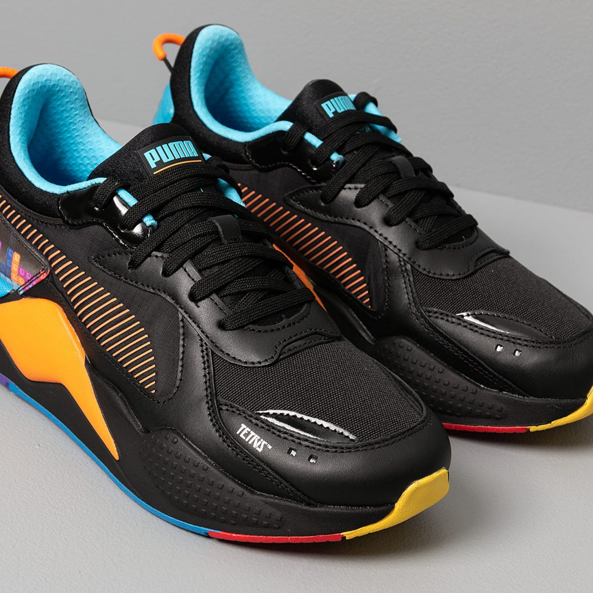 Tetris x PUMA RS-X ''Black/Luminous Blue''