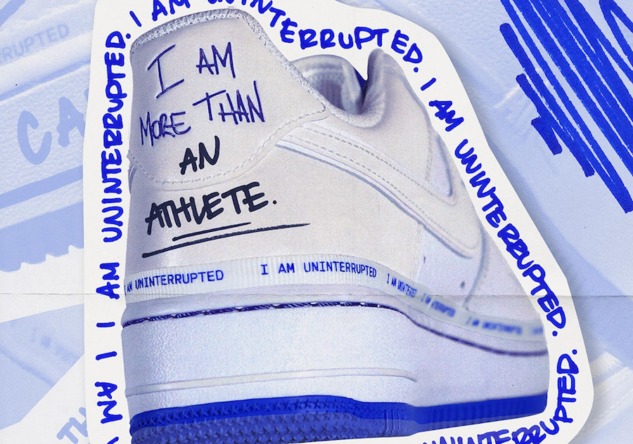 Uninterrupted x Nike Air Force 1 Low \'\'MTAA\'\' Sneaker Style