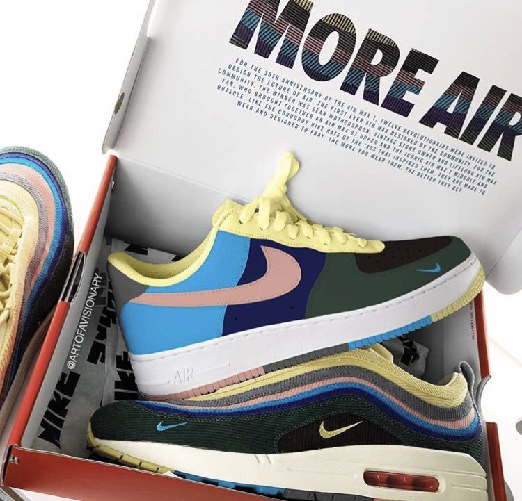 Art Of a Visionary x Nike Air Force 1 ''Air Max 1/97''