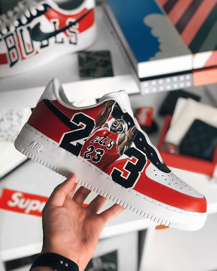 L'art du custom de la Nike Air Force 1 Sneaker Style