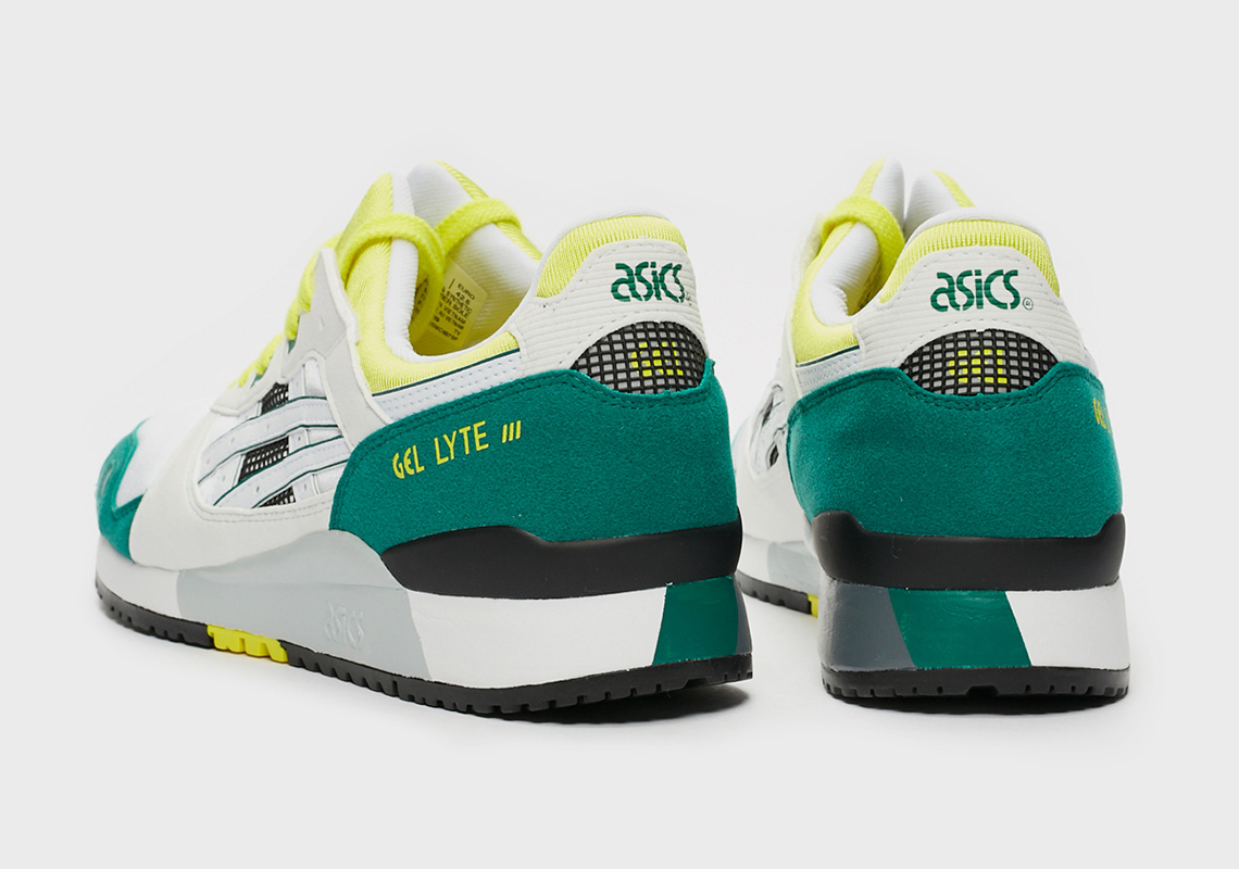 ASICS GEL-Lyte III OG ''White/Green/Yellow''