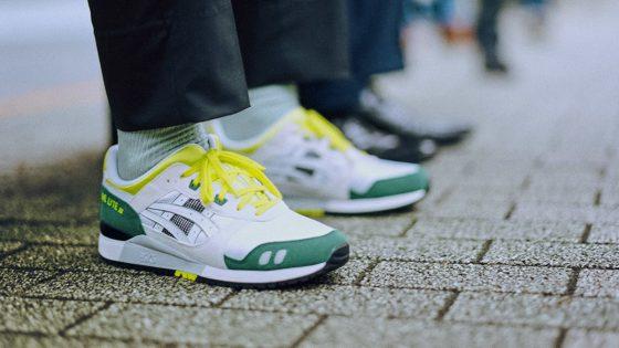 ASICS GEL-Lyte III OG ''White/Green/Yellow''