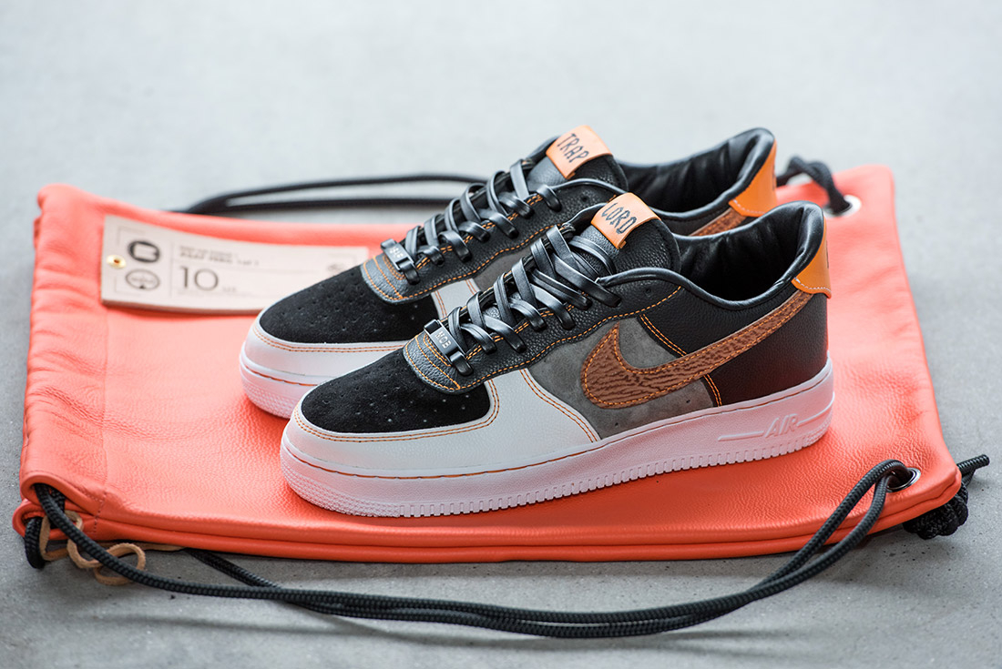 BespokeIND x Nike Air Force 1 ''Trap Lord''