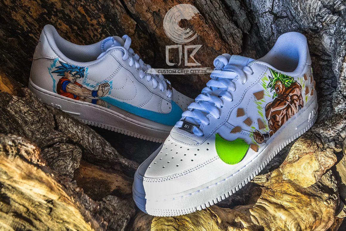 Custom Crep City UK x Nike Air Force 1 DBZ