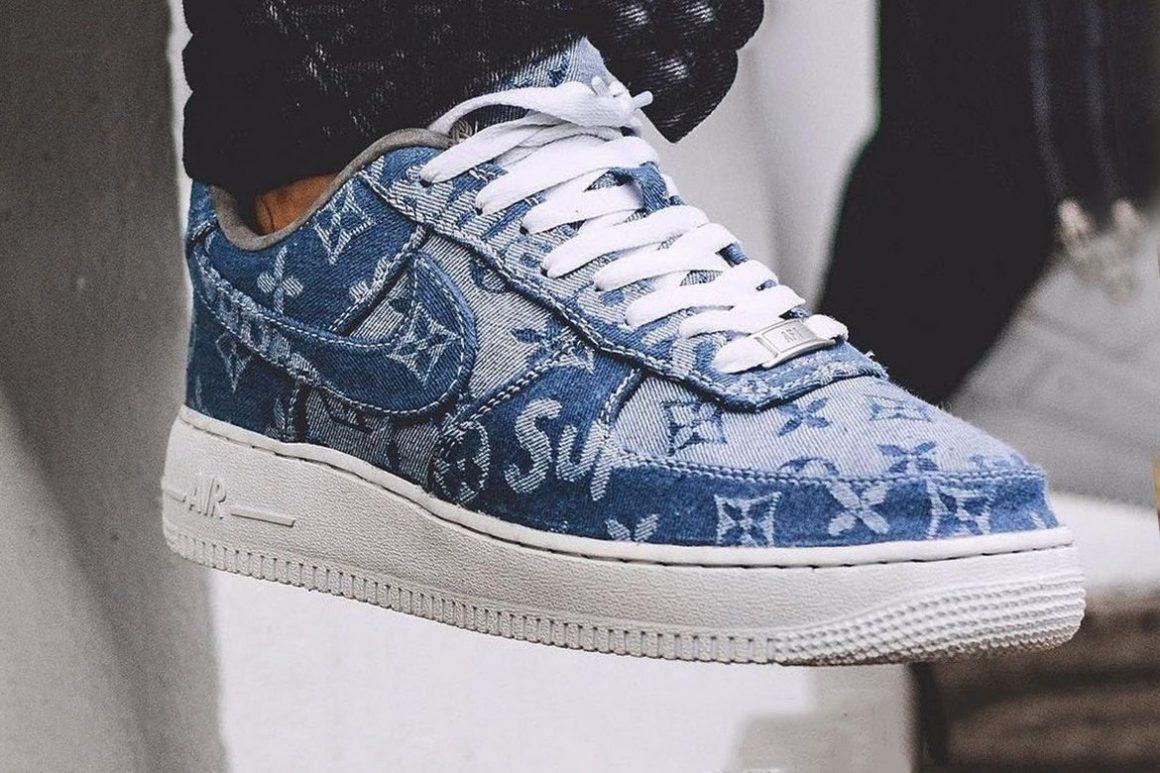 FRE Customs x Louis Vuitton x Nike Air Force 1
