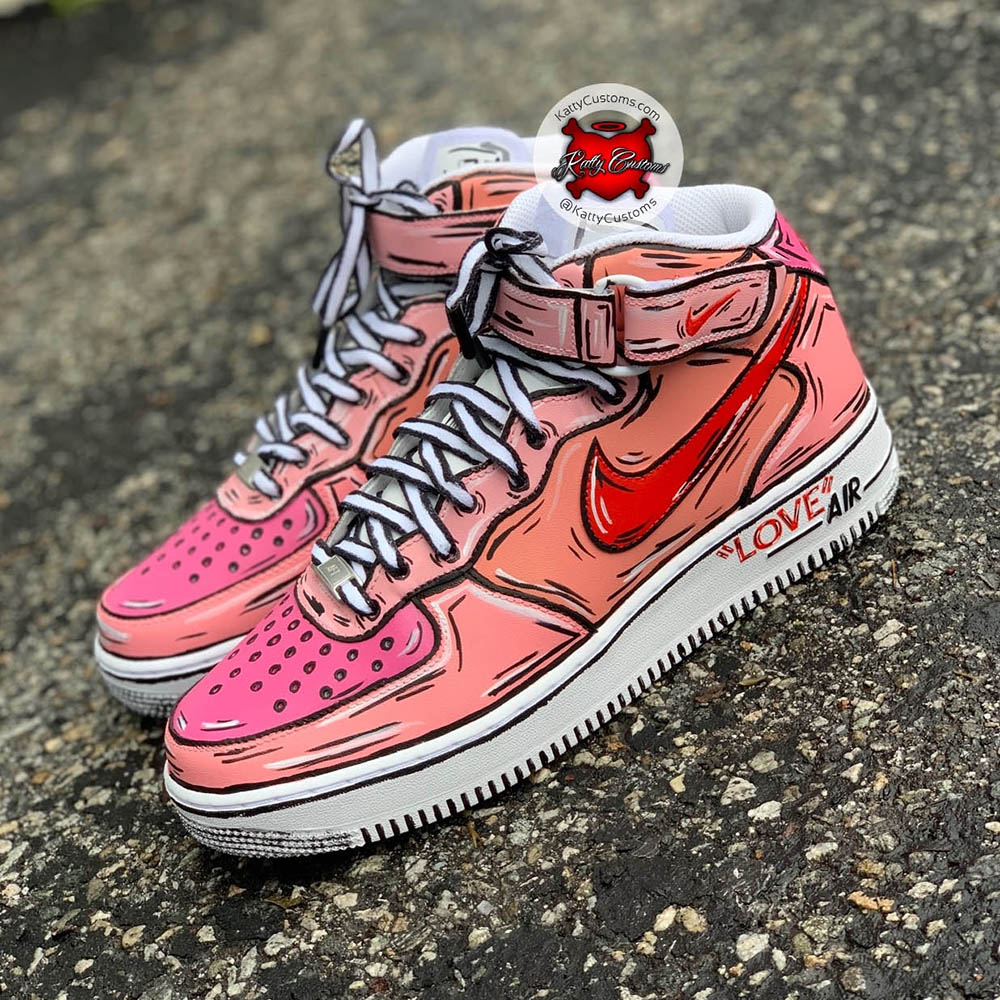 L'art du custom de la Nike Air Force 1 Sneaker Style