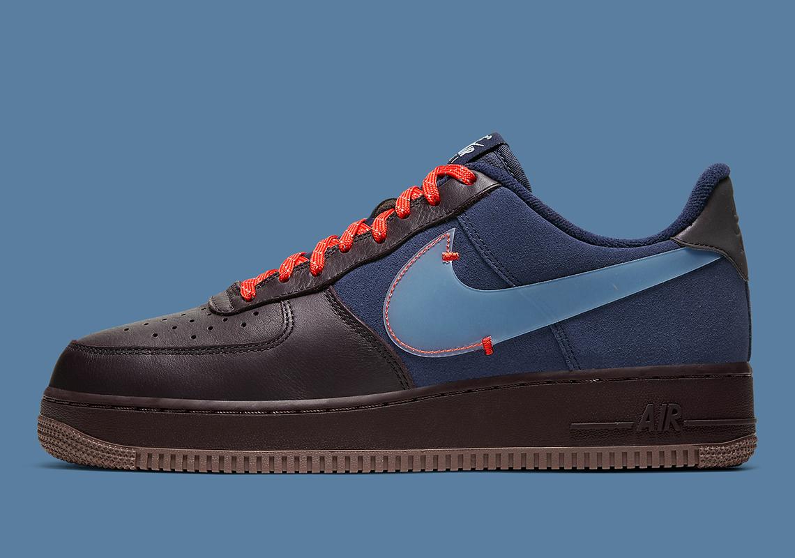 Nike Air Force 1 PRM ''Burgundy Ash''