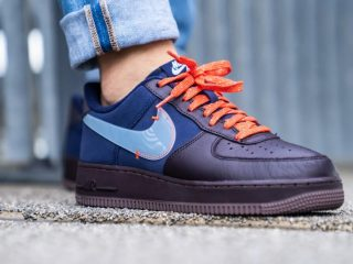 Nike Air Force 1 PRM ''Burgundy Ash''